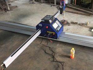 Kína ódýr 15002500mm Metal Portable CNC plasma klippa vél með CE