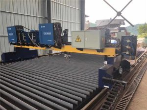 Hot Sale Metal Plate CNC Logi gas klippa vél