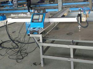 Portable cnc plasma klippa vél efnahagslegt verð Metal Cutting Machine