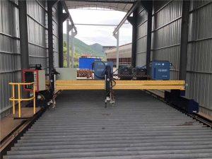 Nákvæmni CNC plasmaskurðarvél nákvæm 13000mm með servó mótor